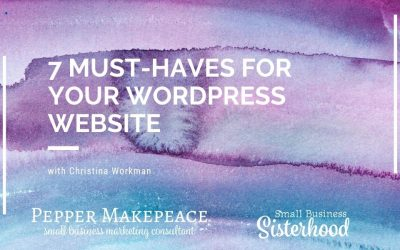 7 Must-haves for Your WordPress Website
