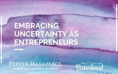 Embracing Uncertainty as Entrepreneurs