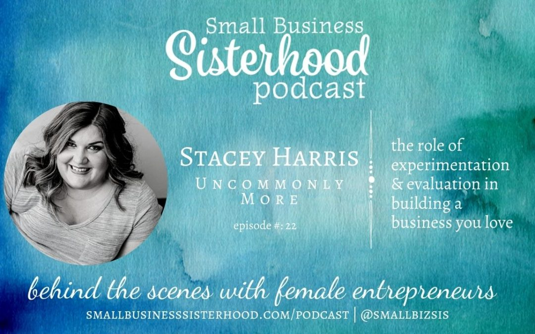Ep #22 Small Business Sisterhood – Stacey Harris – Uncommonly More