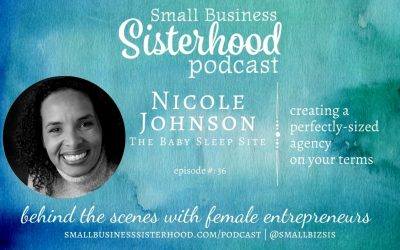 #36 Nicole Johnson – creating the perfectly-sized agency on your terms – with Pepper Makepeace