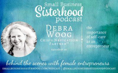 #46 Debra A. Woog – the importance of self-care as an entrepreneur
